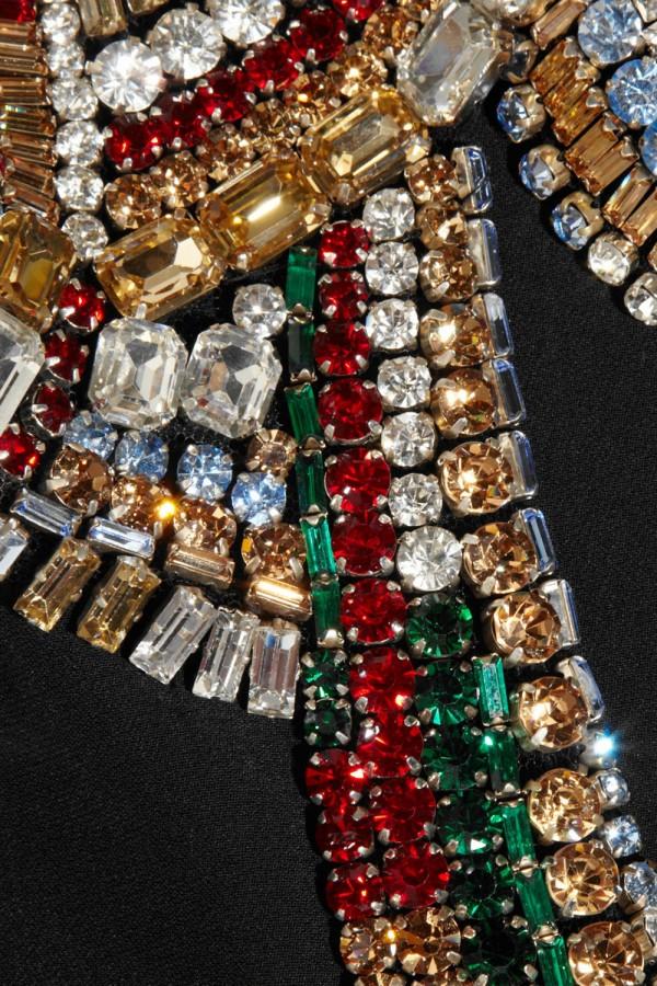 Swarovski Crystal-embellished Twill Jacket by Alexander McQueen