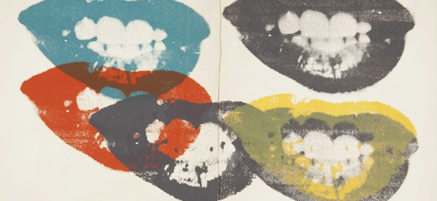 Andy Warhol's I Love Your Kiss Forever Forever