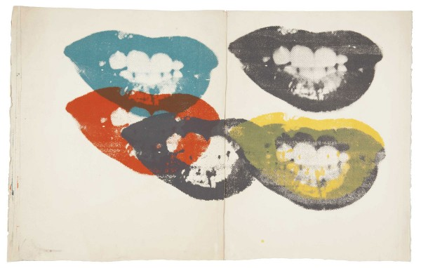 I Love Your Kiss Forever Forever by Andy Warhol