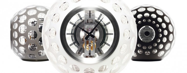 Atmos Hermès Limited Edition Crystal Clock