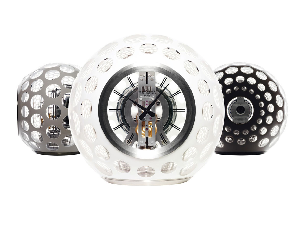 Atmos Herms Limited Edition Crystal Clock