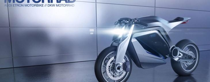 Audi eTron Motorbike
