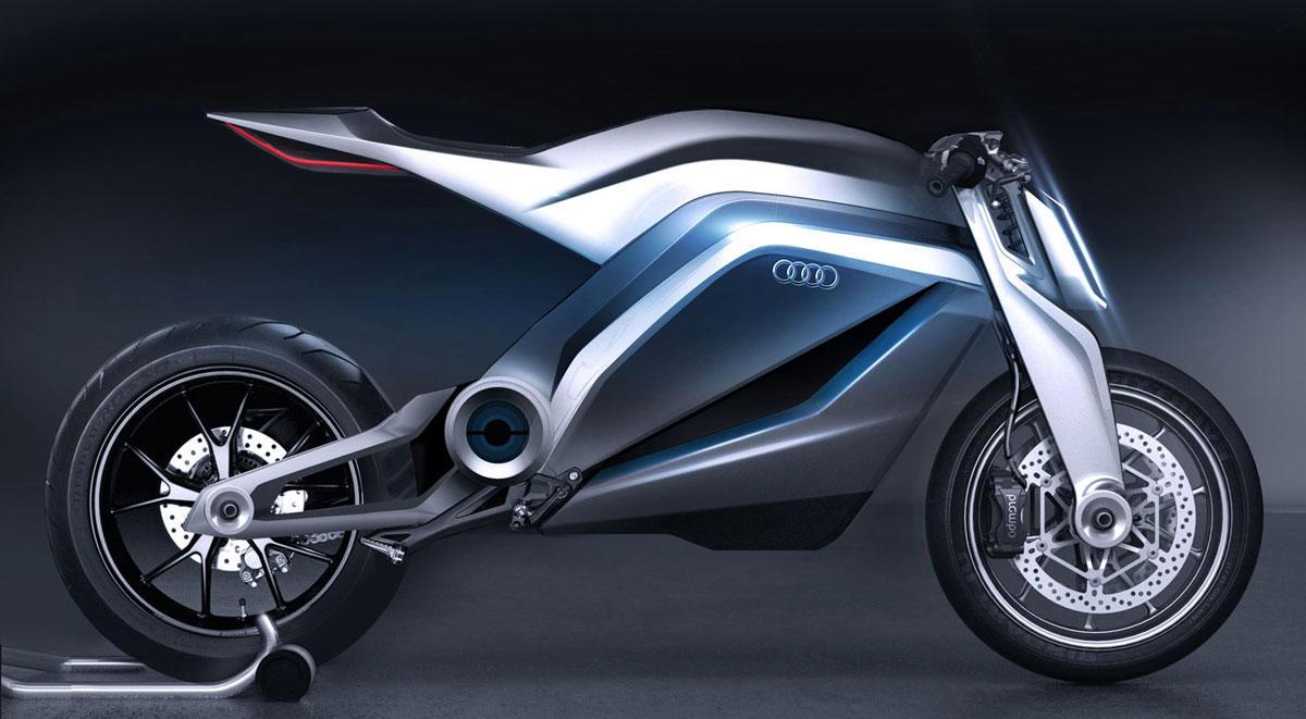 New Audi S Motorcycle Extravaganzi