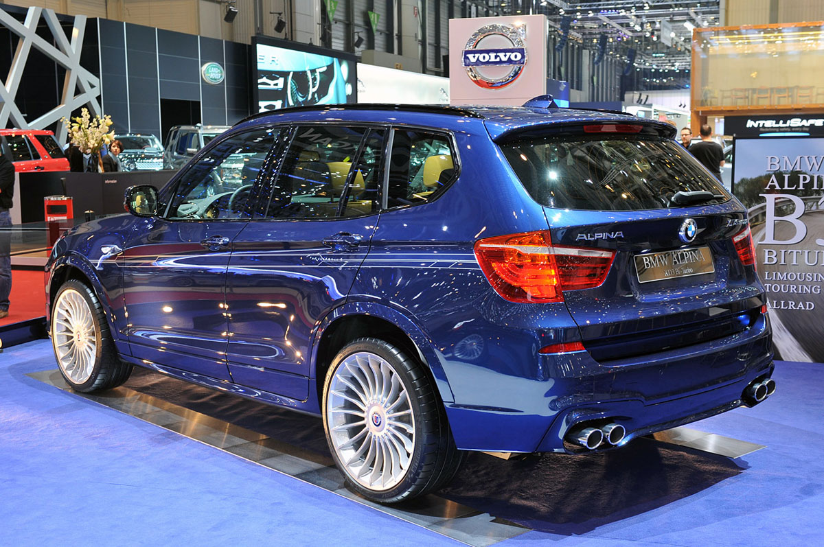 Bmw Alpina Xd3 Bi Turbo Extravaganzi