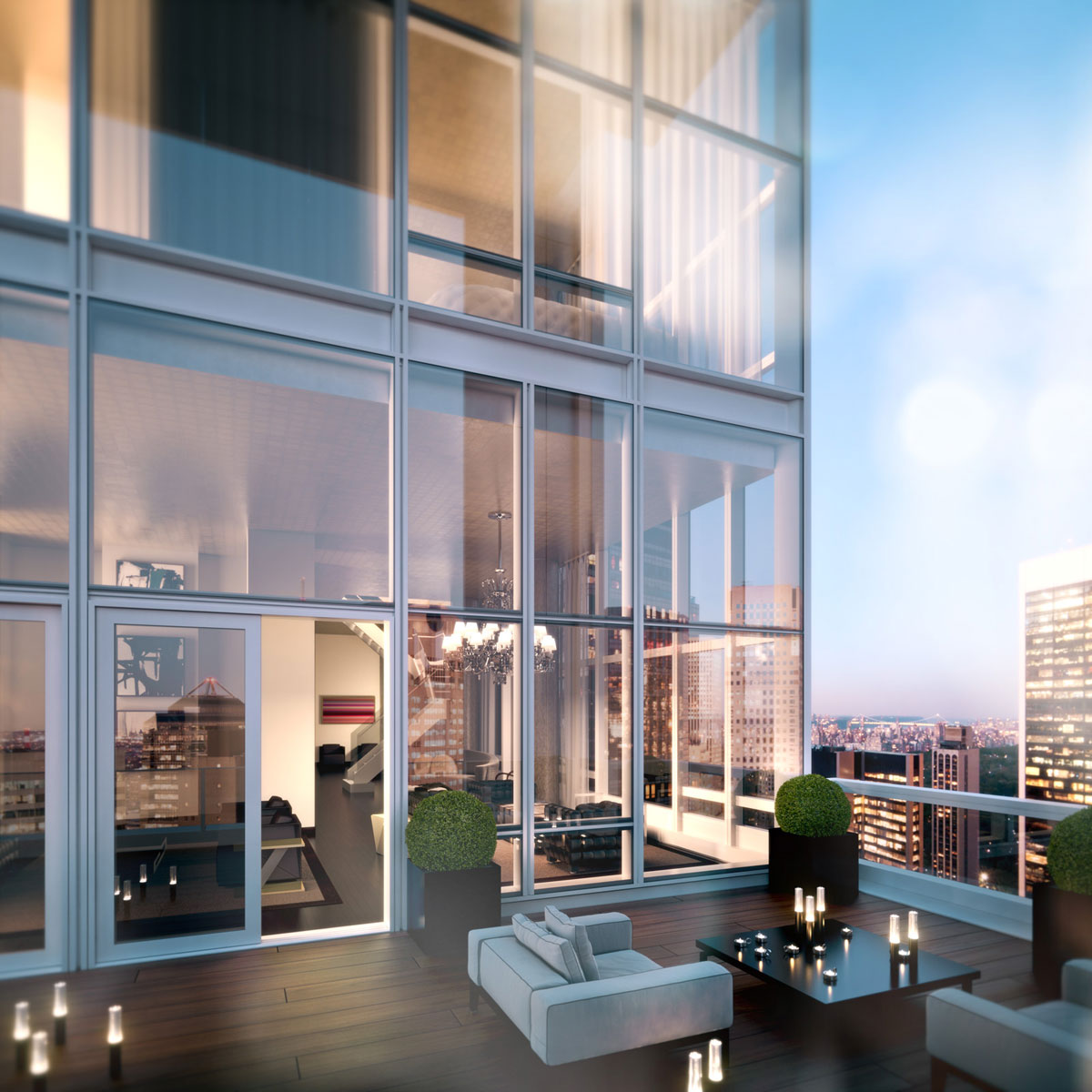 50 story baccarat hotel residences new york to open in for Hotel new york