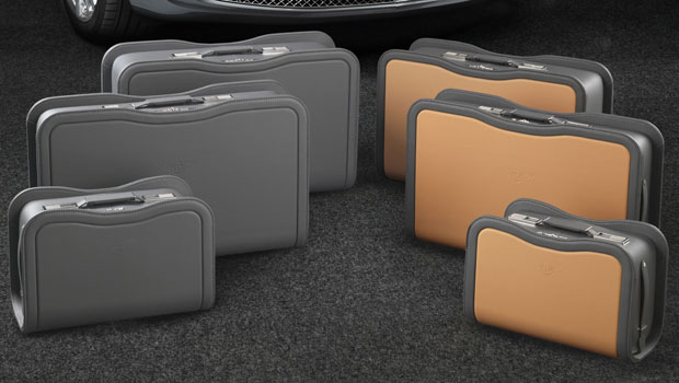 Bentley Mulsanne fitted luggage set