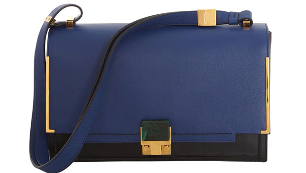 Blue New Partition Leather Shoulder Bag will cost you £1,760