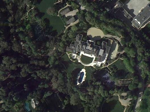 Carolwood Estate in Holmby Hills - Walt Disney's Former Mansion