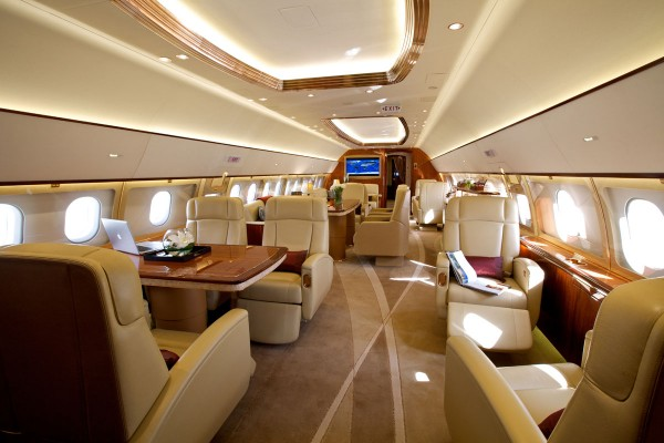 With the worlds widest and tallest jet cabin, the Airbus ACJ319 is fit for a billionaire