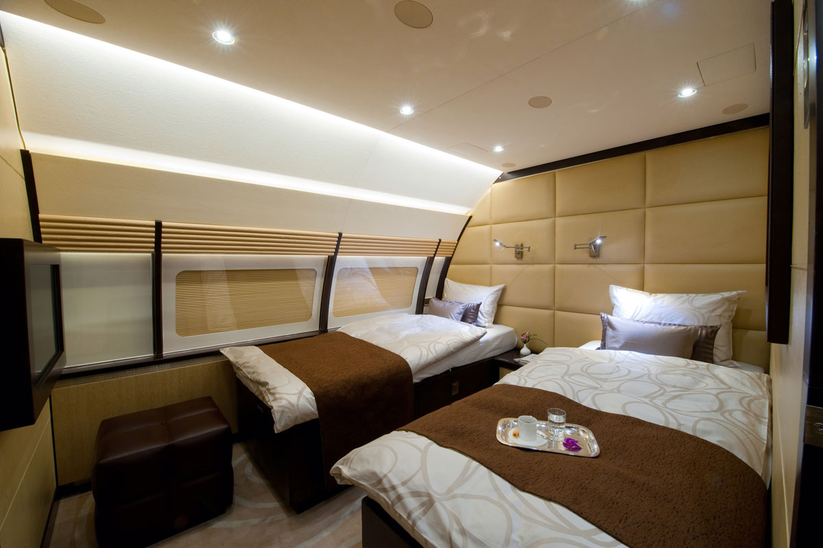 Gallery For Gt Luxury Private Jet Bedroom