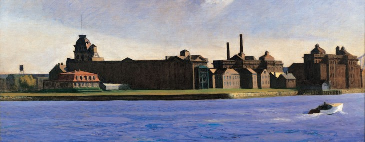 Edward Hopper's Blackwell's Island oil on canvas is estimated at $15-20 million