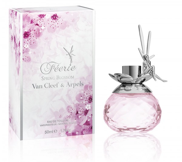 Van Cleef & Arpels has launched Feerie Spring Blossom - new poetic and infinitely charming limited edition Eau de Parfum