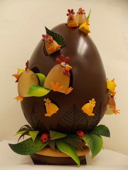 Giant Egg Chocolate