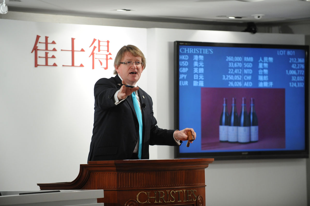 Henry Tang's Burgundy Wine Collection Fetched $6.2 Million at Christie's
