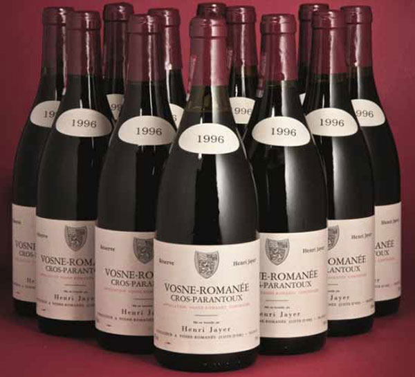 Henry Tang's Burgundy Wine Collection