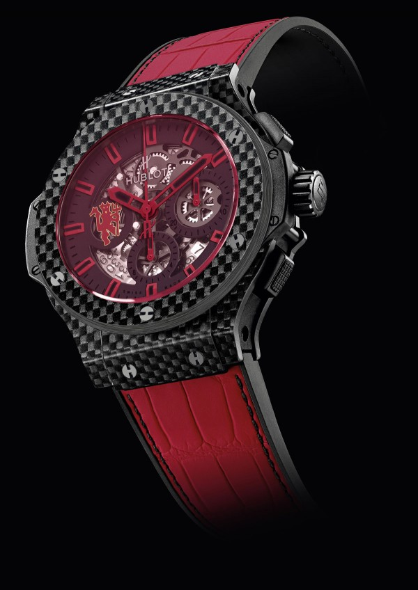 Hublot introduces Aero Bang Red Devil 26: Inspired by Shinji Kagawa, a Japanese football player with Manchester United