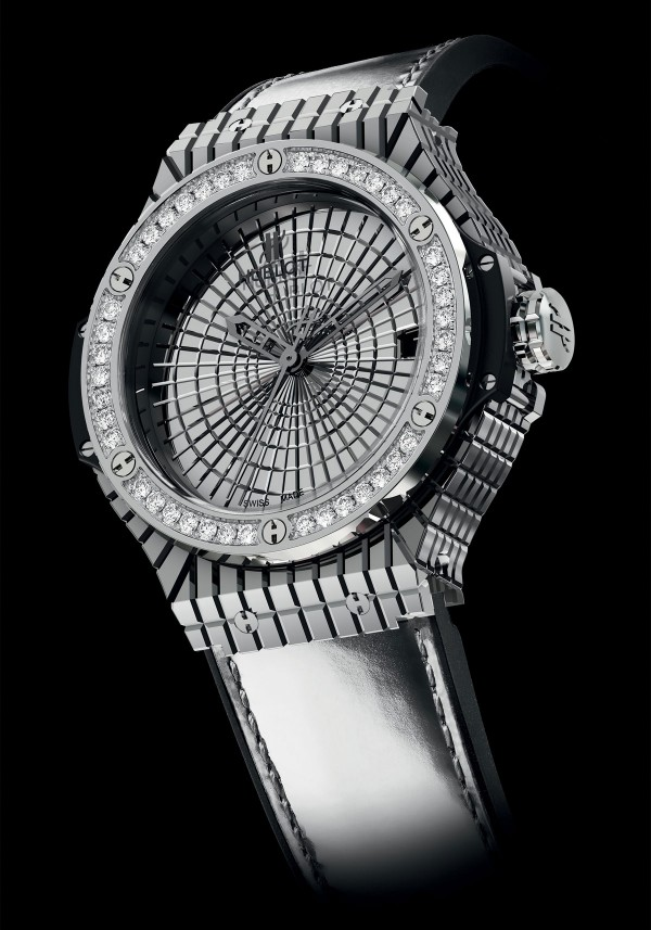 Hublot Big Bang Caviar Steel Diamonds with 36 diamonds