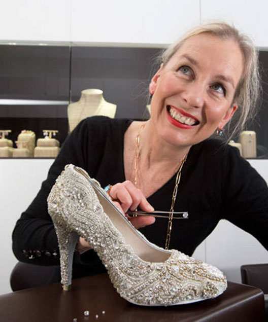 Diamond-encrusted heels worth £276,000 step in to the record books as the world's most expensive shoes