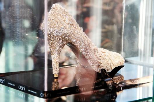 Kathryn Wilson's Diamond Shoe