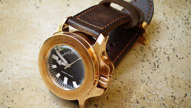 Kaventsmann Triggerfish Bronze A2 Watch &#8211; Stronger than Explosion