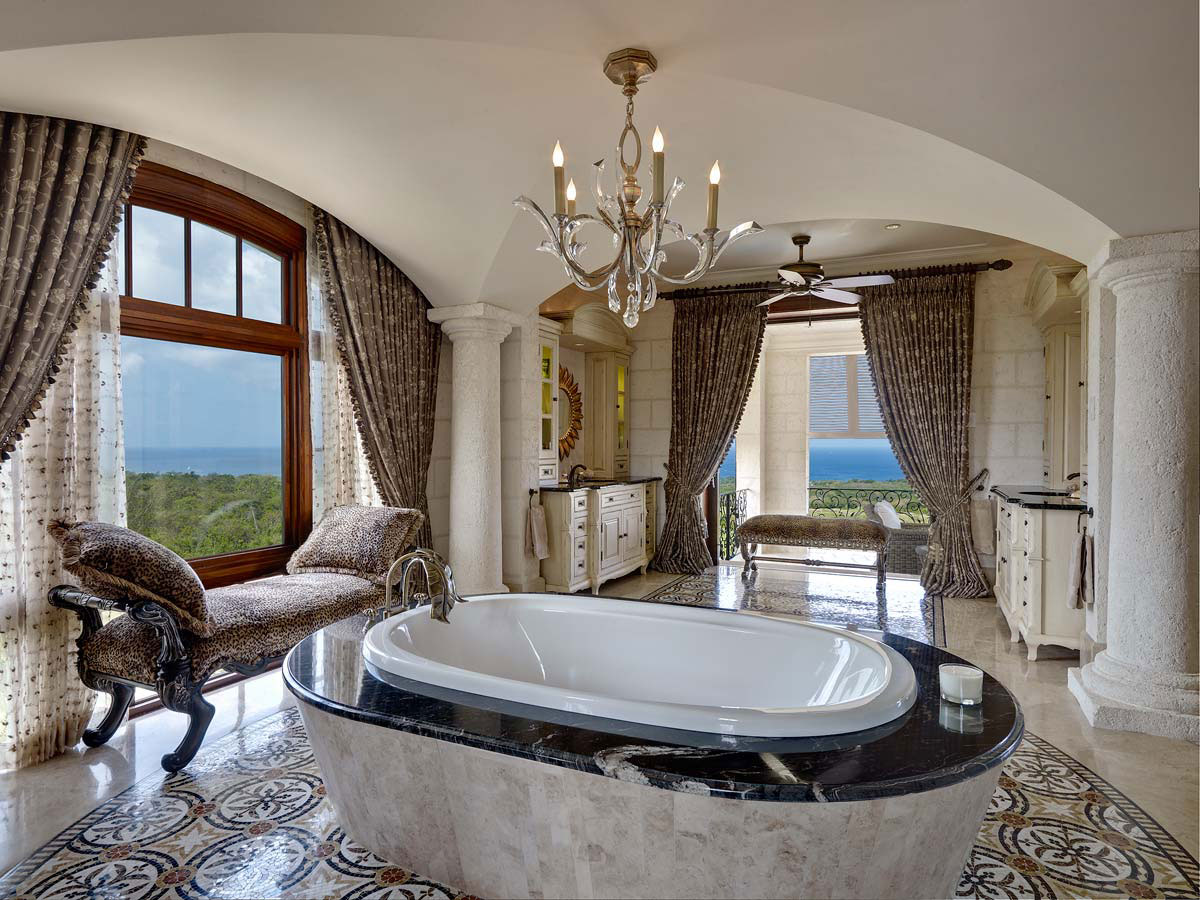 Leading luxury real estate offers a villa of caribbean for Interni case lussuose