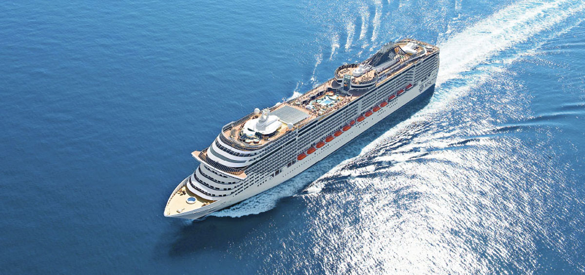 MSC Preziosa&#8217;s First Grand Voyage