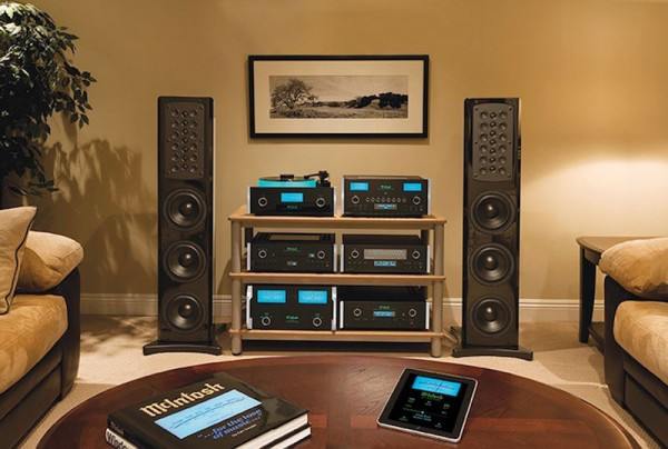 McIntosh x John Varvatos Custom Built SoHo Audio System
