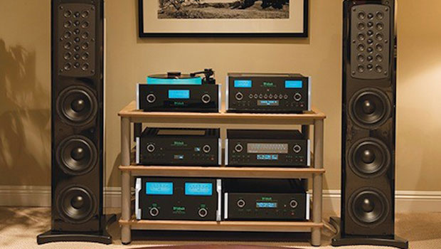 A custom-built McIntosh audio system is the featured auction item for the 10th Annual Stuart House Benefit organized by clothing designer and McIntosh enthusiast John Varvatos