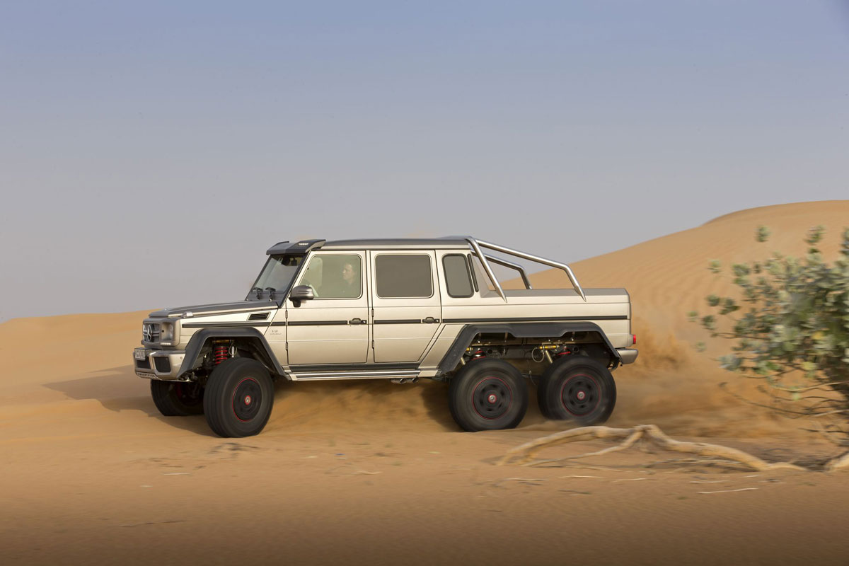 Military Version of Mercedes G63 AMG 6X6