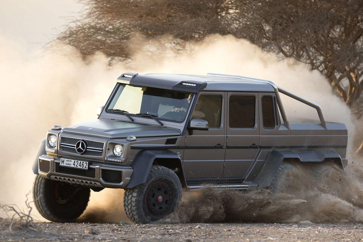military version of mercedes g63 amg 6x6 the simply luxurious life style. Black Bedroom Furniture Sets. Home Design Ideas