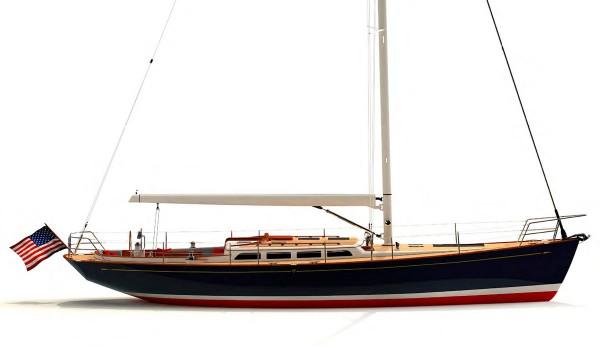 Morris Yachts' new M-Series M46 Sailing Yacht