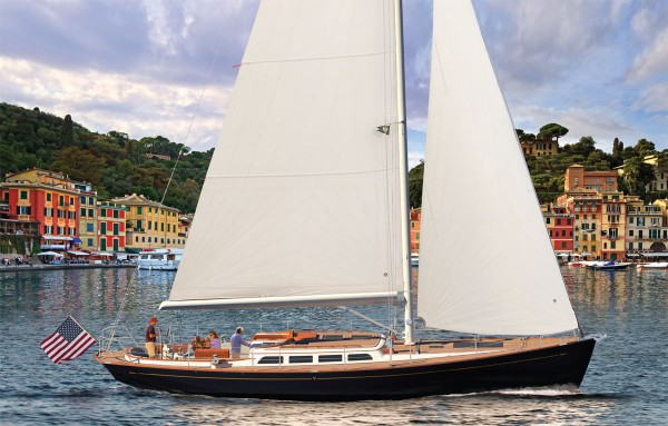 Morris Yachts' new M-Series M46 Sailing Yacht