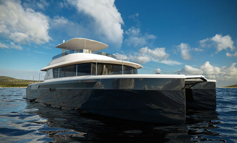 Setzer Yacht Architects&#8217; New High-performance Power Catamaran for NISI Yachts