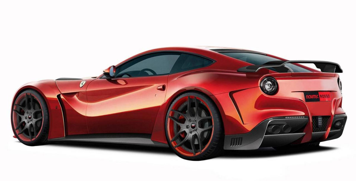 Novitec Rosso S N Largo Ferrari F12 Berlinetta First