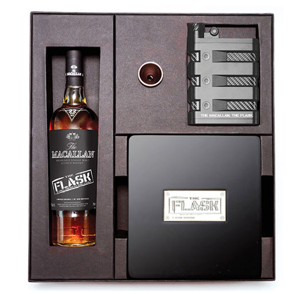 Oakley and The Macallan - The Flask