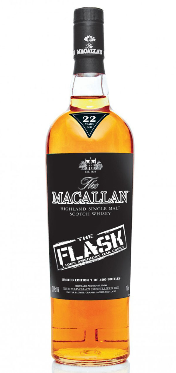 The Macallan 22 Year All American Sherry Oak Scotch