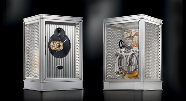 Parmigiani Fleurier and Lalique Clock 15 Days