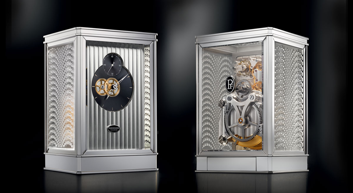 Clock 15 Day From Parmigiani Fleurier and Lalique