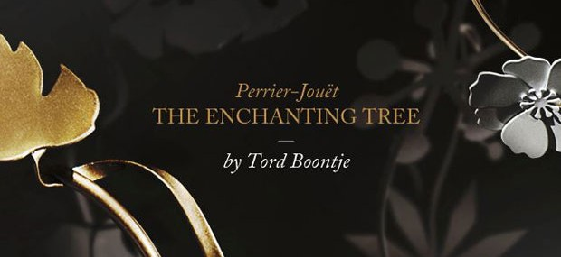 Perrier-Jouët Enchanting Tree by Tord Boontje