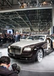 Rolls Royce Wraith Debuts at Geneva