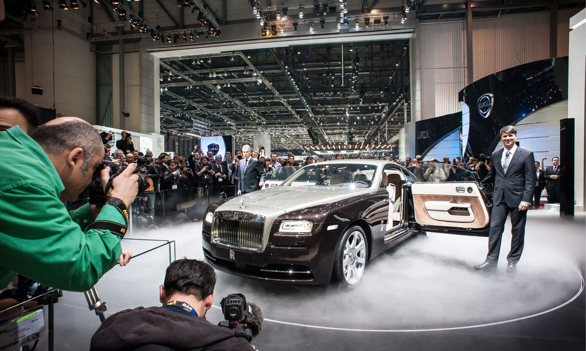 Rolls Royce Wraith Debuts at Geneva