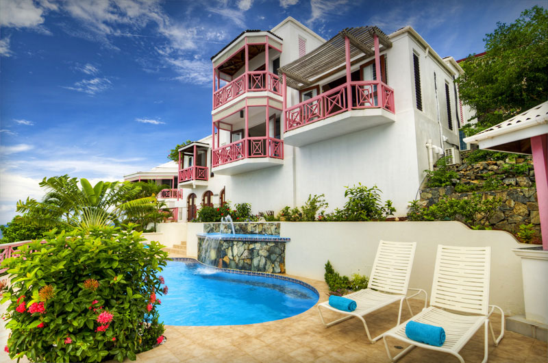 Virgin islands vacation homes