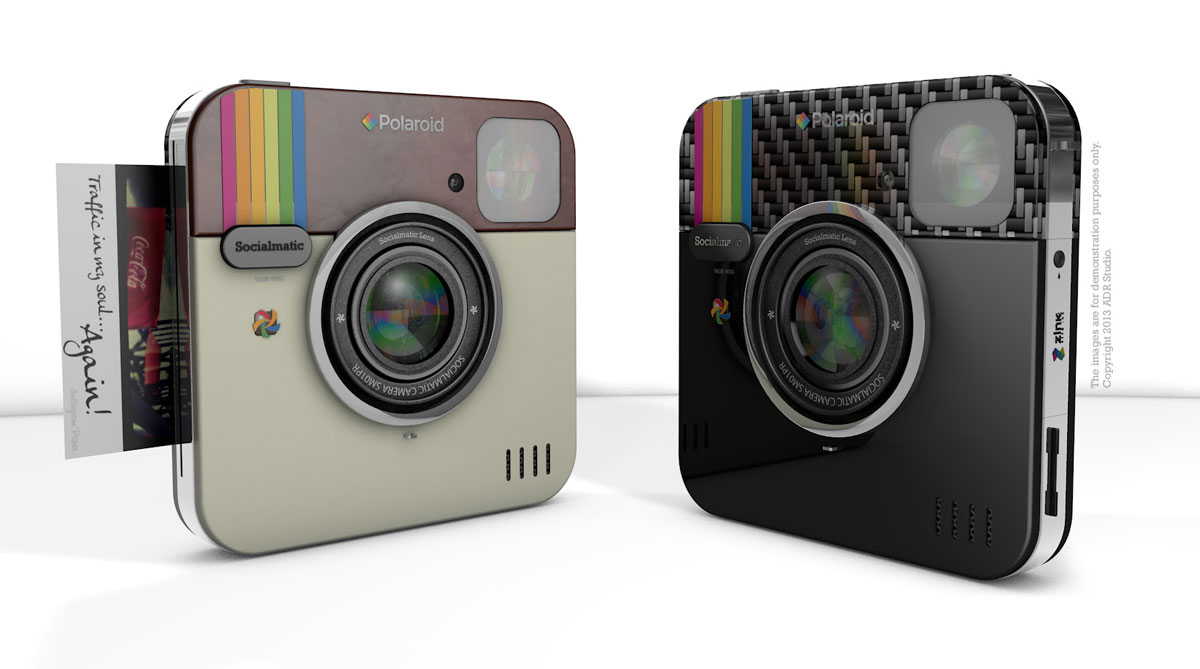 New Instagram Socialmatic Instant Camera