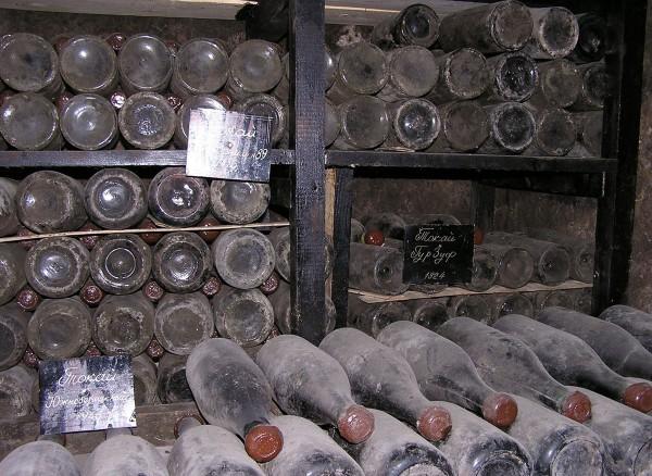 The Massandra vintage wines built for Czar Nicholas II