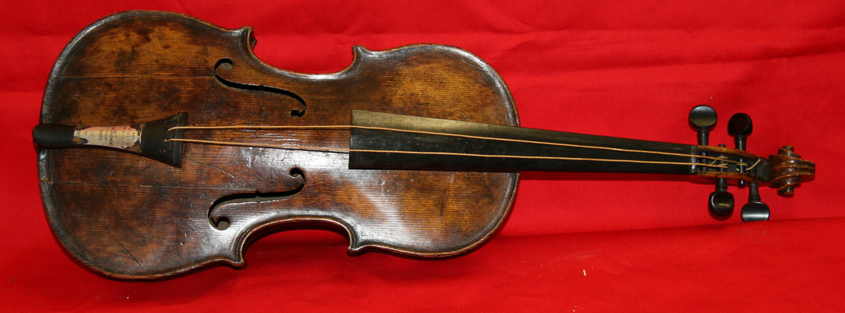 Violin Played by Wallace Hartley is Said To Be the Most Important Artefact from Titanic