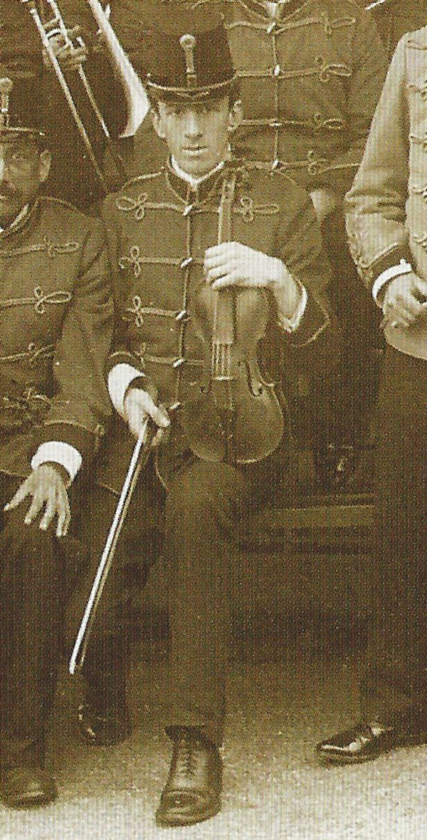 Wallace Hartley and his band played on as Titanic sank