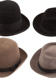 Walter Matthau's lot of four hats he wore in various films as well as in life