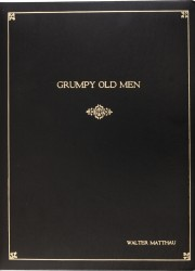 Walter Matthau&#039;s Script from Grumpy Old Men. Warner Bros., 1993