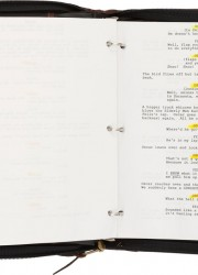 Walter Matthau&#039;s Script from The Odd Couple II. Paramount, 1998
