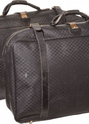 Walter Matthau&#039;s selection of Gucci suitcases